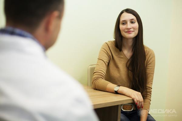 на первом приеме диетолога